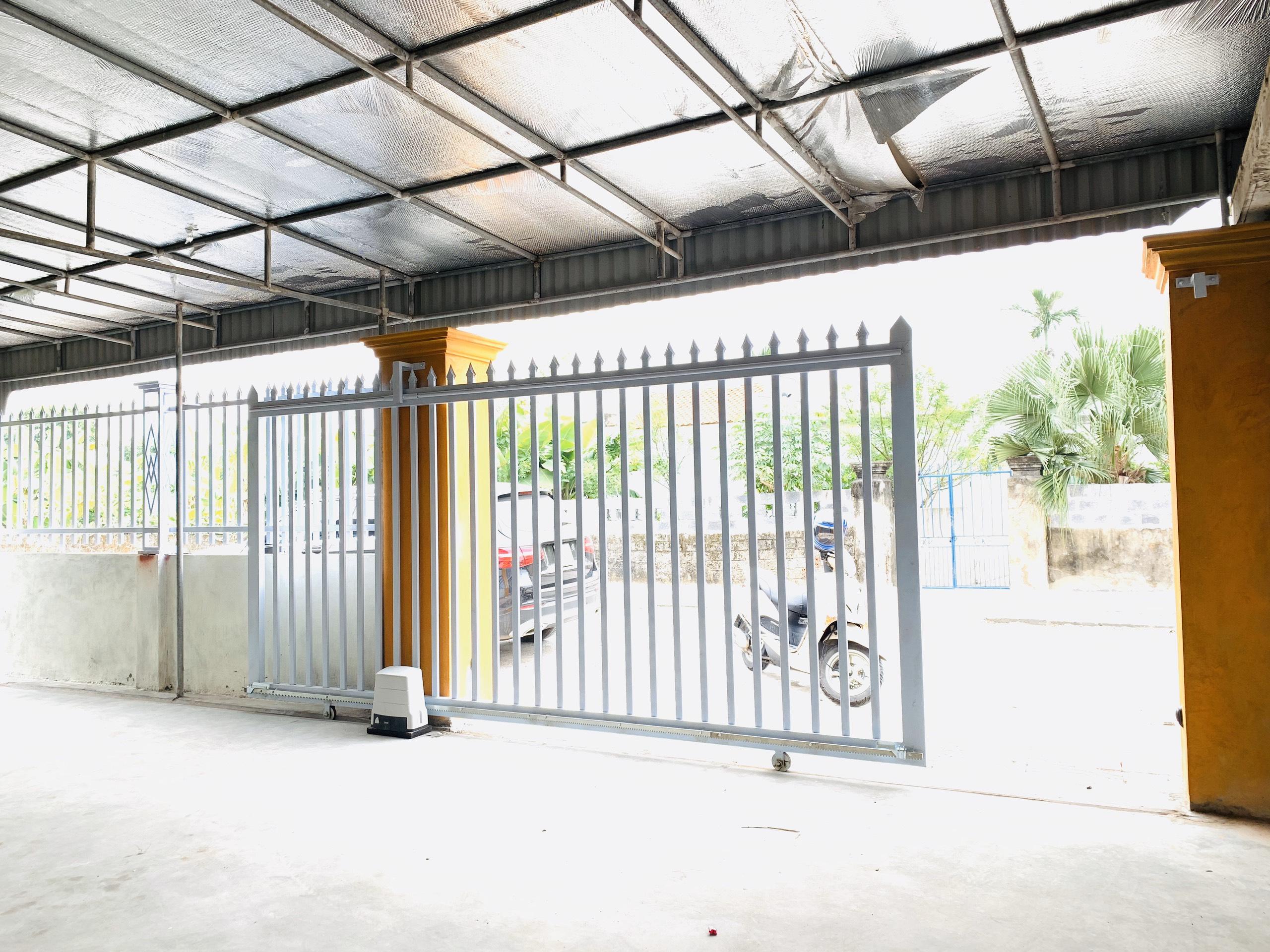 Dự án cổng trượt ngang Khu biệt thự Mỹ Đình